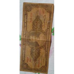 Nota Antiga De R$ 50,00 Cruzeiros Para Colecionador