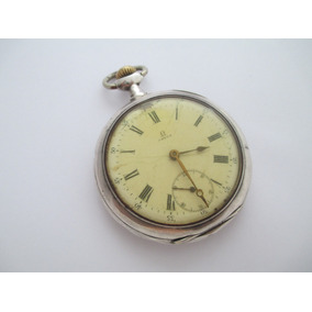 f708d7a5e92 Relogio Omega Ferradura De Bolso Em Prata 900 Peça Rara - Relógios ...
