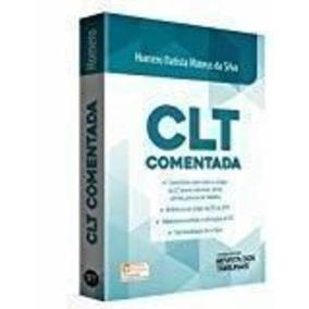 Livro Clt Comentada Homero Batista Mateus Da Silva
