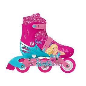 5190 Patines 2 En 1 Barbie