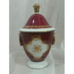 Plj Potiche Porcelana Alemana Marquise - Art. 2059