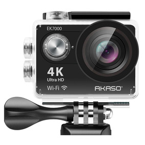 Câmera De Ação 4k Ultra Hd Akaso Wireless Prova D