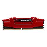 Memoria Ram Ddr4 Gskill Ripjaws 5 8gb 2800mhz Rojo
