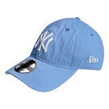 Boné Aba Curva Mlb New York Yankees Azul Marinho Ajustável no ... 46c3a1a14ed