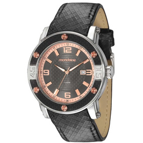 Relógio Masculino Couro Mondaine Original - 69213g0mvnh1