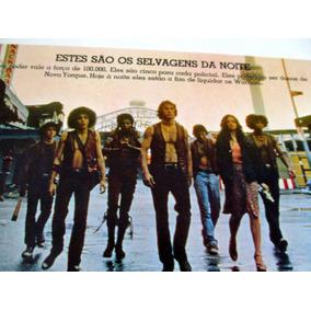 Poster Sinopse Warriors Os Selvagens Da Noite Cult 1979 Gang