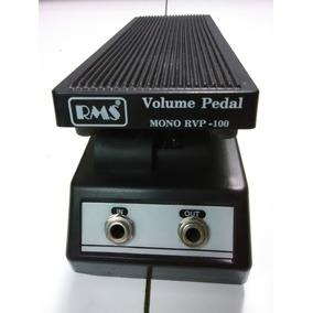 Pedal De Volumen Guitarra Rms Rvp-100 Pasivo Baja Impedancia