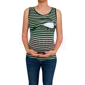 Blusa Sin Mangas. Maternidad-lactancia