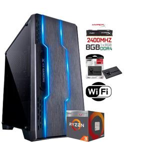 Pc Gamer / Ryzen 3 2200g / 8gb Ddr4 - Vega 8 2gb - 1tb