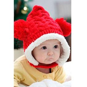 Touca Forrada Pompom Bebê Gorro Crochet Frio Criança A2 · 2 cores e17ee9e7cbf