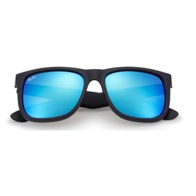 a7cb461bc51f1 Oculos Ray Ban Azul Quadrado - Óculos no Mercado Livre Brasil