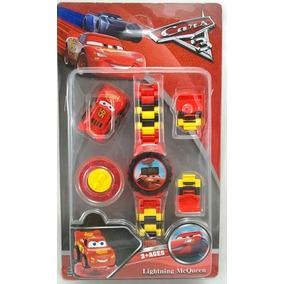Relógio De Pulso Infantil Digital Carros Da Disney + Lego