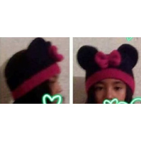 Diadema De Mimi Crochet Minnie Mouse Orejas Mickey Adulto L
