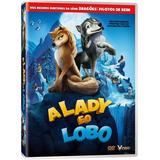 Dvd - A Lady E O Lobo - O Bicho Ta Solto