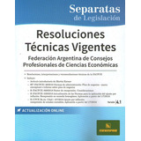 Resoluciones Técnicas Vigentes V. 4.1 Última 2019 Errepar