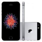 iPhone Se 16gb Cinza Espacial Vitrine Película + Capinha