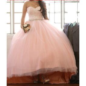 bb067fa09 Vestidos De Xv Años Con Cola De Pato Largos - Vestidos de Mujer Rosa ...
