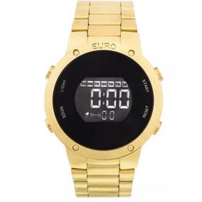 Relógio Euro Digital, Dourado, Coleção Sabrina Sato