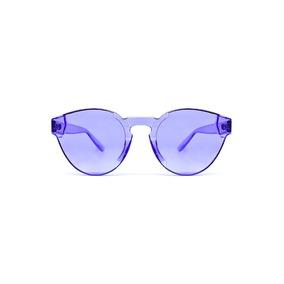 Lente De Sol Transparente De Color Azul, Glasses G3, P6400