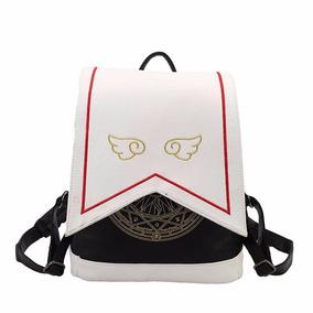 6ae1f530676 Mochila Cartera Bolsa Clow Sakura Cardcaptor Kinomoto Kawaii