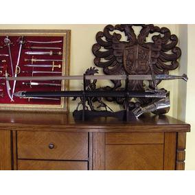 Espada Templários Medieval Cruzadas Charles V