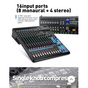 Mg16xump3 Mesa De Som, Com Bluetooth, Pendriver E Efeito