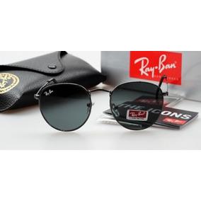 Óculos De Sol Ray Ban Rb3447 Round Redondo Feminin Masculino db23a422ac