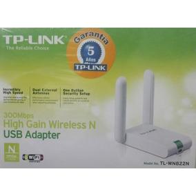 Adaptador Usb Tp-link Tl-wn822n 300mbps Antena Fija