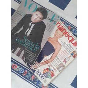 Revistas Manequim E Vogue Brasil Beleza. Capa: Xuxa Meneghel