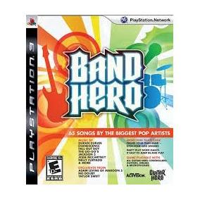 Jogo Band Hero Playstation 3 Game Seminovo