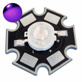 Kit 03 Led 3 W Ultra Violeta Uv 395-400 Nm - Frete R$ 12,00
