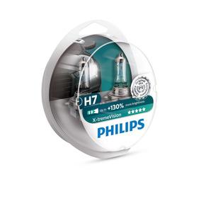 Kit Lampada Philips H7 X-treme Vision Plus 130% + Luz 3700k