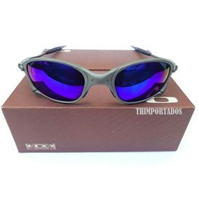 e090c03a2a9cc Oculos Juliet Azul - Óculos De Sol Oakley Juliet no Mercado Livre Brasil