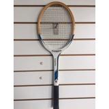 Raquete Tenis Madeira Sunsports Antiga - 367g