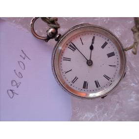 60c9be14114 Relógio Em Prata De Chavinha Cylidre Vacheron Geneve. R  12.000