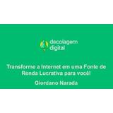Curso Decolagem Digital Para Afiliados 2019 Giordano Narada