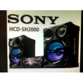 Equipo De Sonido Sony Genezi Hcd Fst-sh2000 Oferta 220verdes