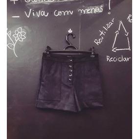 Short Em Camurça Cintura Alta Da #shop126 38.
