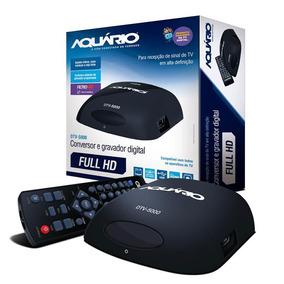 Conversor Digital De Tv E Gravador Promoção Aquario Dtv-5000