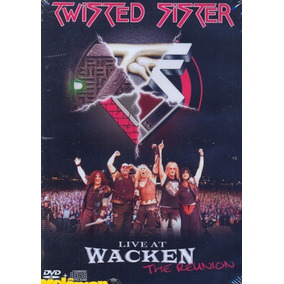 Twisted Sister 2003 Live At Wacken - The Reunion Dvd Lacrado