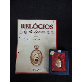 Coleção Relógios De Época - Número 31 - Atena - Salvat