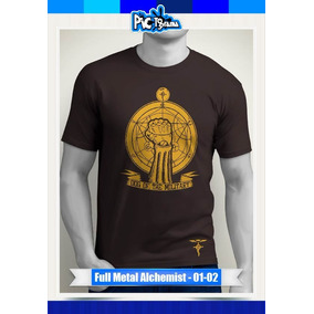 Camiseta Negra Anime Full Metal - Camisetas en Mercado Libre Colombia df02100aaf232
