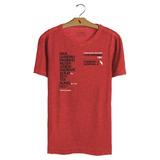 Camisa Casual Flamengo - T-shirt Escalação 1981