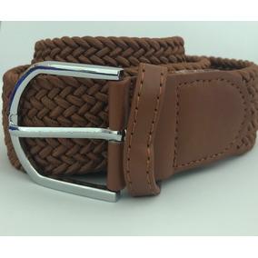 Cinturon De Piel Trenzado Cafe en Mercado Libre México 0379cae0d81d