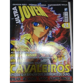 Revista Ultra Jovem Nº 24 - Cavaleiros Zodíaco Dragon Ball