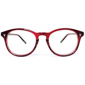 Armação De Óculos De Grau Vermelho Floral Armacoes Oculos - Óculos ... 894f91c2f1
