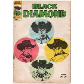 Reis Do Faroeste Nº 03 - Black Diamond - Ebal-1974 # Katram