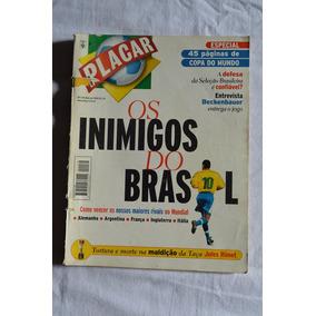 Revista Placar #1139 - Mai/98 - Especial Copa, Com Posters