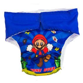 Pañales Ecológicos Impermeable ( +absorbente) - Mario Bross