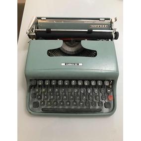 Maquina De Escrever Olivetti Letttera 22 (muito Conservada)